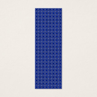 Tessellation Pattern 4B Sm Any Color Bookmark Mini Business Card