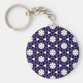 Tessellation Phi Lg Any Color Keychain