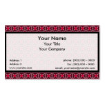 Tessellation SmPhi 482 Sm Any Color Business Card