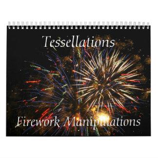 Tessellations - manipulaciones del fuego calendarios