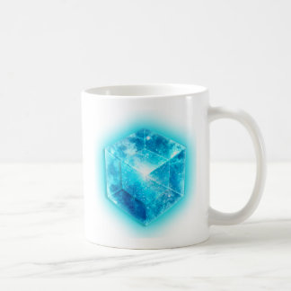 Tesseract, 4D Hypercube, hypercube Coffee Mug