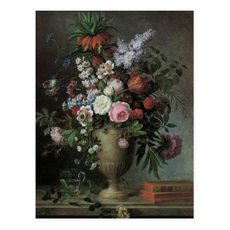 Tessier's Still Life of Flowers Postcard