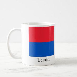 Tessin, banderas de Suisse Drapeau Tazas De Café
