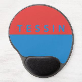 Tessin province Switzerland swiss flag region Gel Mouse Pads