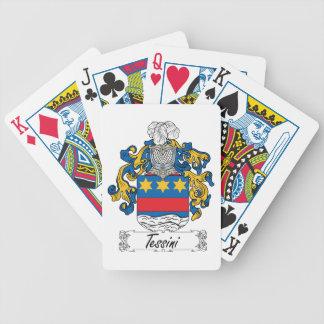 Tessini Family Crest Card Deck