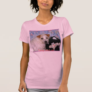 Tessy and cat By Emily Winter. T Shirt