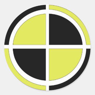 Test Dummy Classic Round Sticker
