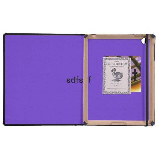 test iPad folio cases