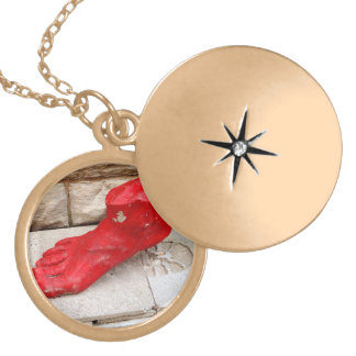 test locket necklace