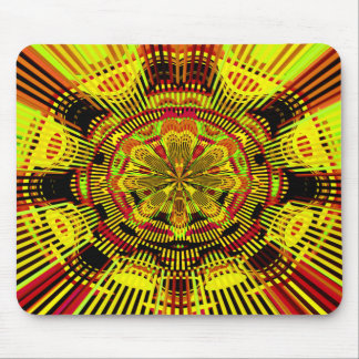 Test Pattern - Are You Awake? Mouse Pad