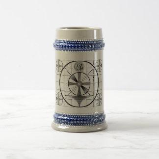 test pattern cool design mug
