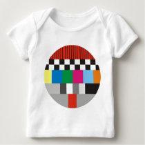 Test Pattern Design Baby T-Shirt