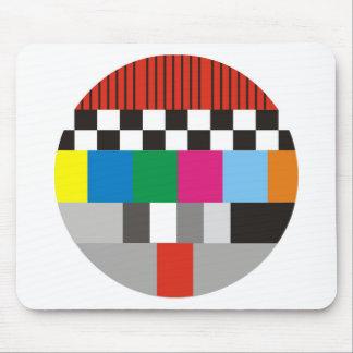 Test Pattern Design Mouse Pad