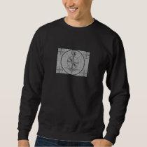 Test Pattern (Indian Head) Sweatshirt