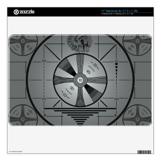 """Test Pattern Laptop Cover 11"""" MacBook Air Decals"""