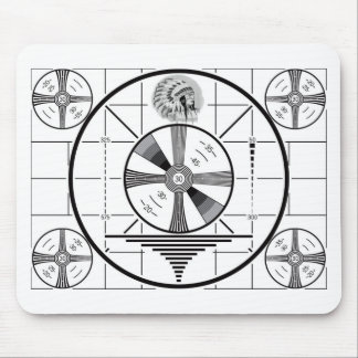test pattern mouse pad