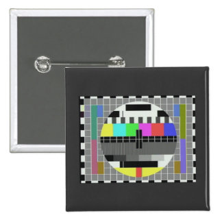 Test pattern novelty (BBC card G) Buttons