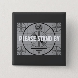 Test Pattern novelty (Indian Stand By) Button