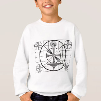 test pattern sweatshirt