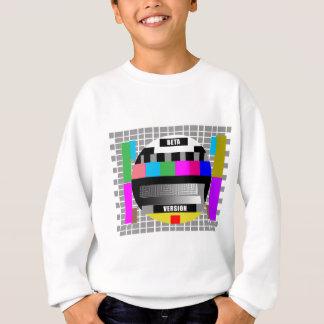 Test pattern sweatshirt