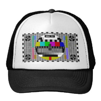Test Pattern Trucker Hat