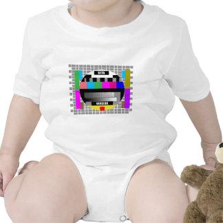 Test pattern t shirts