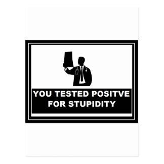 TEST POSITVIE POSTCARD