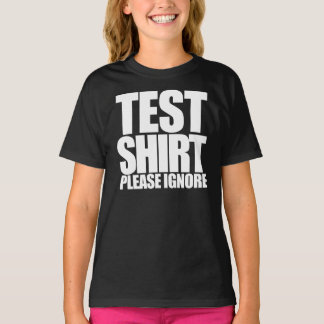 Test shirt please ignore