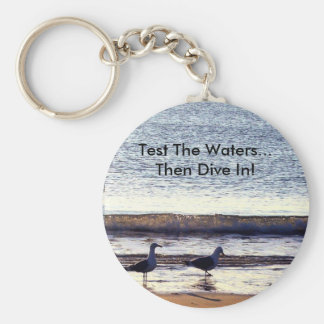 Test The Waters Keychain