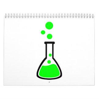 Test tube bubbles calendar