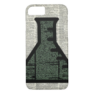 Test Tube Dictionary Art iPhone 8/7 Case