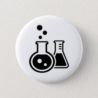 Test tube glasses button