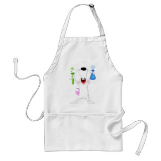 Test Tube Lab Rat Apron