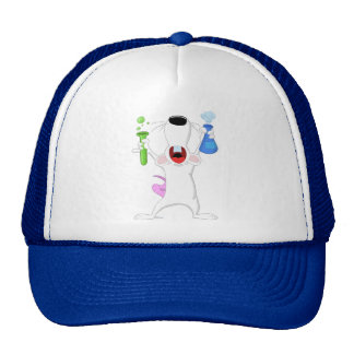 Test Tube Lab Rat Hat