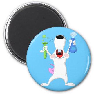 Test Tube Lab Rat Magnet Refrigerator Magnets