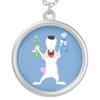 Test Tube Lab Rat Necklace