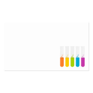 test-tubes-155769  test tubes reagents chemistry e Double-Sided standard business cards (Pack of 100)