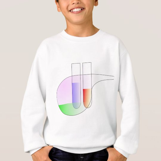 Test Tubes and Retorta Sweatshirt