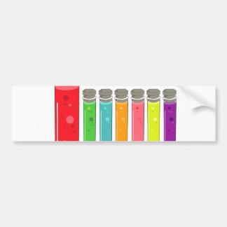 test tubes bumper sticker