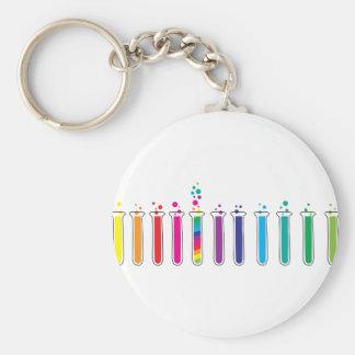 Test Tubes Keychain