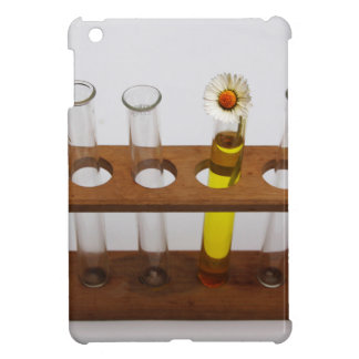 test tubes science lab equipment and flower iPad mini covers