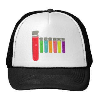 test tubes trucker hat
