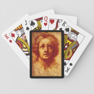 Testa di Donna', B_Studies of the Masters Playing Cards