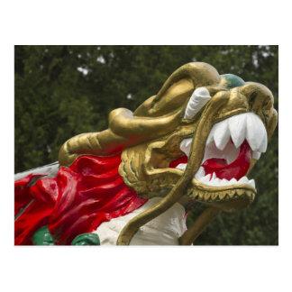 Testaferro chino del dragonboat, parque de Stanley Postal