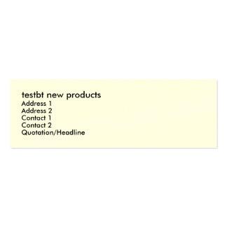 testbt temp, testbt np, testbtauto to testbt203np mini business card