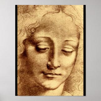 Teste di Giovinetta'_Studies of the Masters Poster