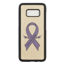 Testicular Cancer Awareness Carved Samsung Galaxy S8 Case