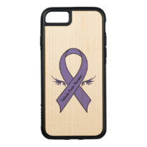 Testicular Cancer Awareness Carved iPhone 8/7 Case