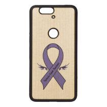 Testicular Cancer Awareness Wood Nexus 6P Case