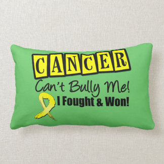 Testicular Cancer Can't Bully Me..I Fought and Won Pillows